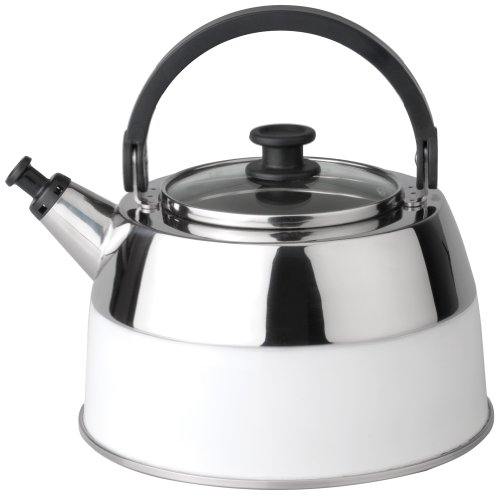Berghoff Virgo 2304167 Kettle Whistling Stainless Steel White