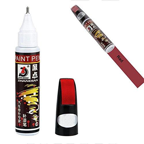 Leo565Tom - Rotulador de retoque con pincel para la pintura del coche. Envase de 12 ml. Disponible en todos los colores