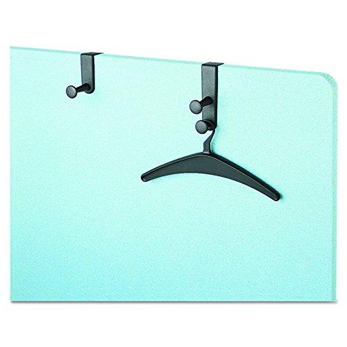 "Panel Hook, Single Post, 1 Hanger, 4-1/2"" Size, Black, Sold as 1 Each"