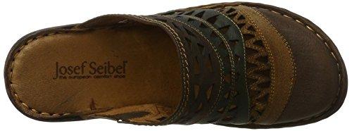 Josef Seibel 62949, Zoccoli Donna Multicolore (Cognac-multi)