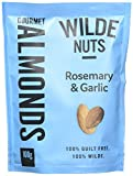 Wilde Nuts Garlic and Rosemary Almonds, 100 g, Pack of 8