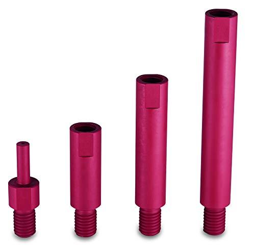 Flex EXS M14 Verlängerung Set in praktischer L-BOXX bestehend aus M14 50mm, 80mm, 120mm sowie Einem Akkuschrauber Aufsatz