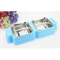 Recipiente para mascotas de acero inoxidable extraíble de alta calidad Tazón de recipiente de perro de