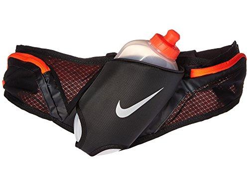 Nike L Flask Belt 20OZ - Statement Trinkgürtel Black/Total Crimson/Silver One Size (Belt Black Nike)