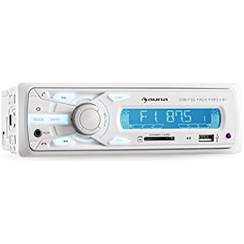 auna MD-625BT Radio digital para coche Bluetooth
