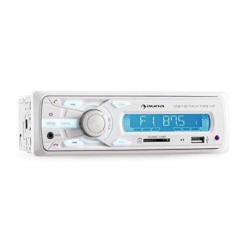 Auna MD-625BT Autoradio Bluetooth (4 x 35 W max, USB SD MP3, AUX, telecomando)