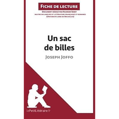 Un sac de billes de Joseph Joffo (Fiche de lecture): Résumé Complet Et Analyse Détaillée De L'oeuvre