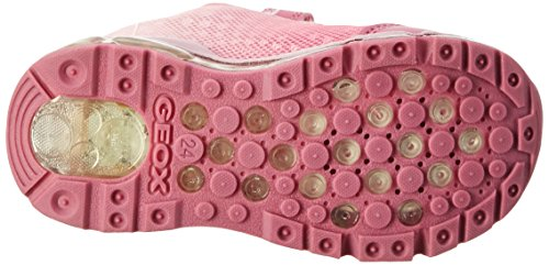 Geox  J ANDROID GIRL B, Sneakers Basses fille Rose (Fuchsia/pinkc8230)