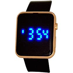 Reflex Teenage Digital Multi-Function Black Rubber Casual Strap Watch REF0102