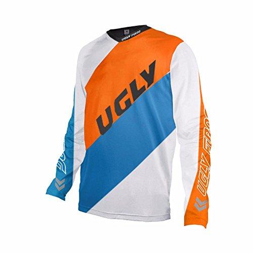 Uglyfrog Bike Wear Herren Downhill/MTB Jersey Mountain Motorrad Clothes Fahrradtrikot Langarm Freeride BMX Fr¨¹hling Top
