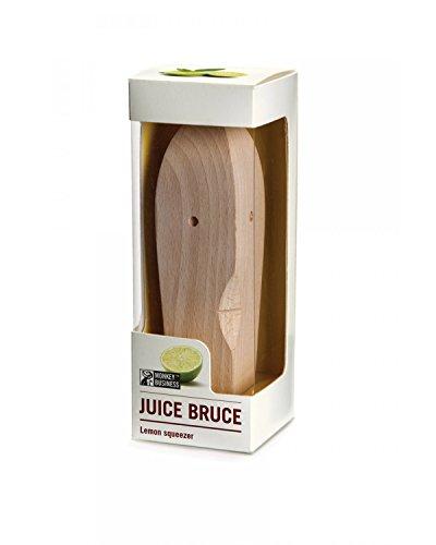 Monkey Business Saft Bruce Zitruspresse, Holz, 14x 3,5x 3,5cm - 2