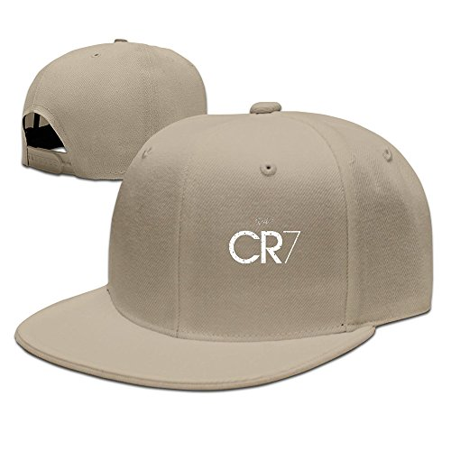 MEIKEY Unisexe CR7Baseball en tricot Chapeaux - marron -