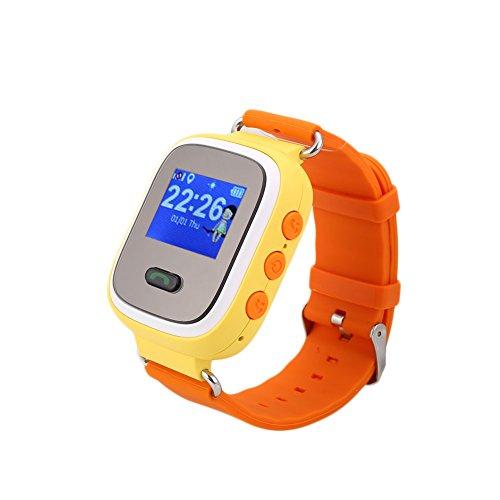 Rosepoem Rastreador GPS de los niños SmartWatch Reloj inteligente para Niños Anti-Perdida...