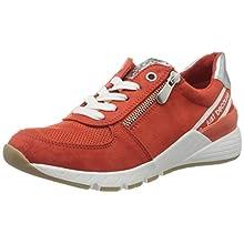 MARCO TOZZI 2-2-23739-34, Sneakers Basses Femme, Orange (Burn. Orange Core 621), 40 EU