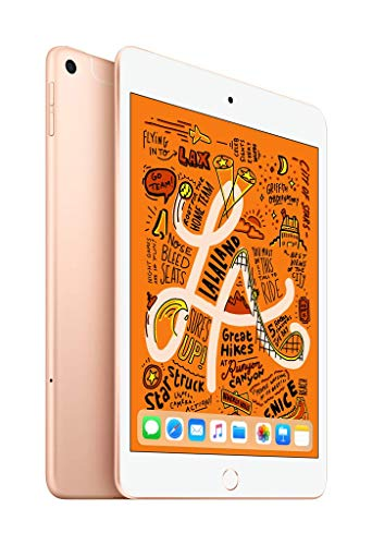 Apple iPad mini (Wi-Fi + Cellular, 64GB) - Gold (64gb Wifi Ipad Mini)