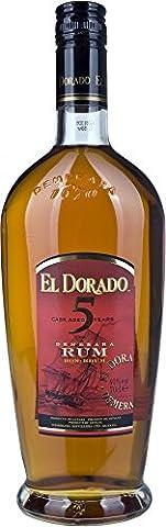 El Dorado 5 Year Old Gold Rum, 70 cl