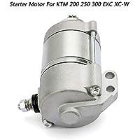 Artudatech Motor eléctrico de arranque para motocicleta, 12 V, motor de arranque para K-T-M 200 XC-W 2013-2016 250 300 EXC XC XC-W Seis días