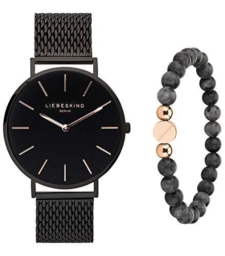 Liebeskind Berlin Set Armbanduhr und Armband LS-0067-MQB