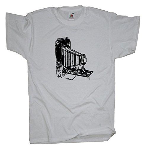 Ma2ca - Old Cam Analog - T-Shirt - Balgenkamera White