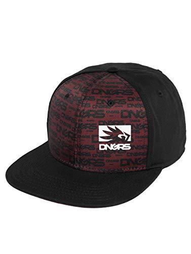 Dangerous DNGRS Herren Snapback Caps Flush rot Einheitsgröße Flush Patch Panel