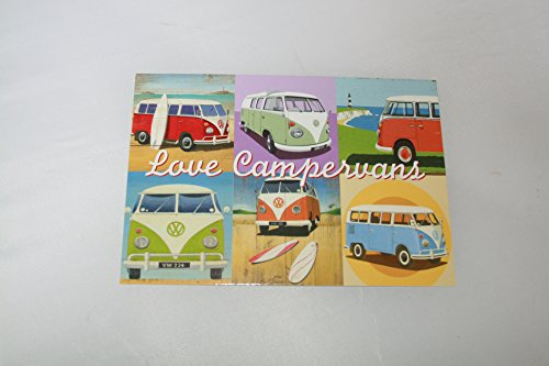 Postcard-VW-Camper-Van-Love-Campervans-ideal-thank-you-card-or-gift-picture-from-design-by-Martin-Wiscombe