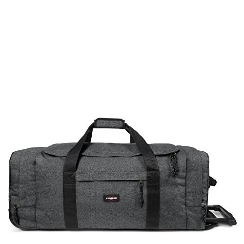 Eastpak - Leatherface L - Bagage à roulettes - Black Denim - 98L