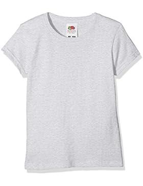 Fruit of the Loom Mädchen T-Shirt Sofspun T Girls