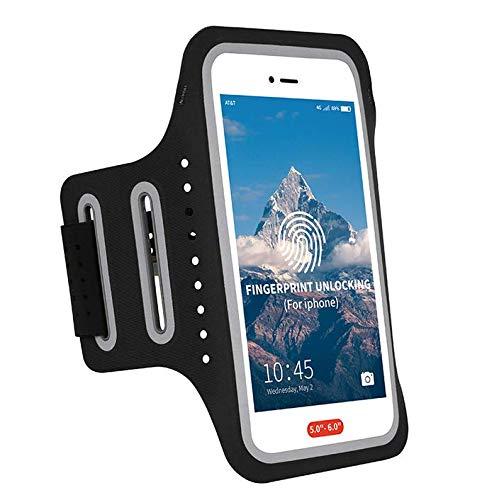 Sportarmband für Motorola Moto G7 / G7 Plus / Z4 Play/LG V50 ThinQ/Huawei P30 / Samsung Galaxy S10 / S10 Plus/Xiaomi 9 (Lg-touch-handys Entsperrt)