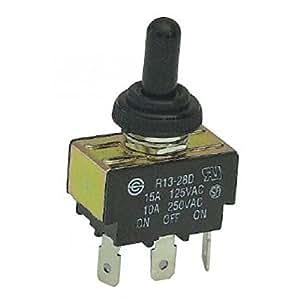 Interrupteur a levier 12 volts avec capuchon etanche