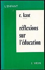 Réflexions sur l'éducation - Traduction, introduction (