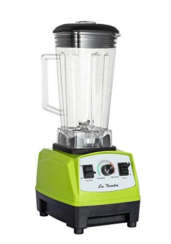 La Bomba® Competizione, Hochleistungsmixer, Blender, Profi Smoothiemaker, Verde/grün,1500 Watt, 32000 RPM, BPA Free