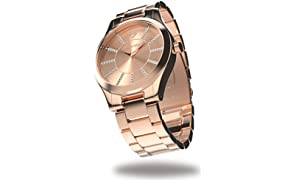 Timothy Stone collection CHARME STAINLESS reloj mujer de cuartzo, color Oro Rosa