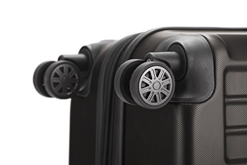 HAUPTSTADTKOFFER - X-Berg - Handgepäck Koffer Trolley Hartschalenkoffer, TSA, 55 cm, 42 Liter, Graphite - 5