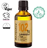 Naissance True Lavender Essential Oil (no.102) 50ml - Pure, Natural, Cruelty Free, Vegan, Steam Distilled and Undiluted