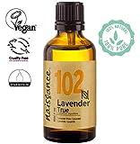 Naissance Aceite Esencial de Lavanda n. º 102 – 50ml - 100% puro, vegano y no OGM GMO