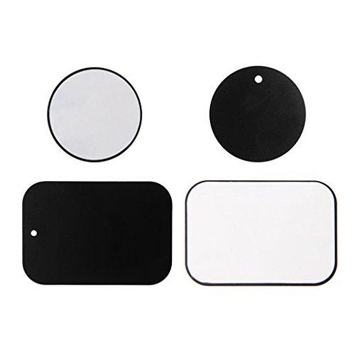 4 Stücke Ersatz Metallplatte Für Magnetische Auto Dash Mount Telefon GPS PDA Halter