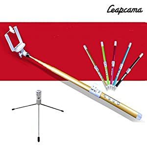 leapcama tm di nuovo disegno autoritratto tiro monopiede selfie stick con il supporto del. Black Bedroom Furniture Sets. Home Design Ideas