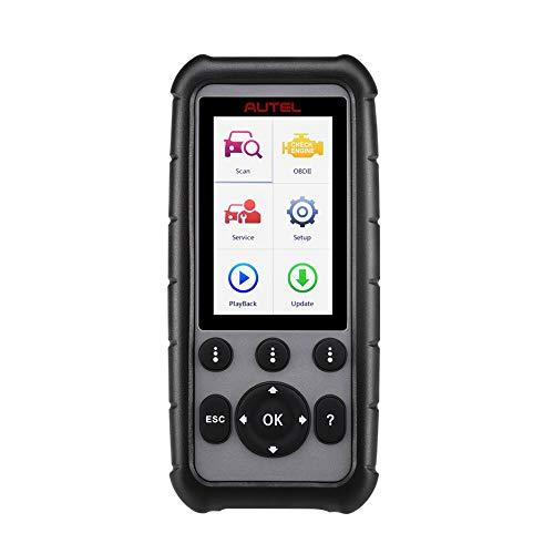 Autel MaxiDiag - Scanner OBD2 per Auto con ABS, SRS, Trasmissione, diagnosi del Motore e Reset Olio, EPB, SAS, Dpf Regen, BMS e Servizi accelerato