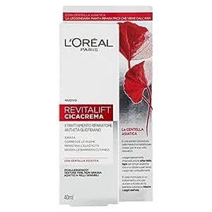 L'Oréal Paris Revitalift CicaCrema Crema Viso Antirughe Idratante Riparatrice Giorno con Centella Asiatica, 50 ml