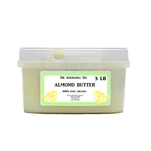 Almond Butter Pure Organic - 3 Lb/48 oz