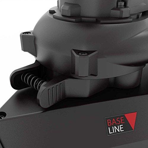 Levigatrice a secco MENZER TSW 225 + aspiratore industriale/con sistema cambio testa/incl. garanzia del produttore e set di abrasivi