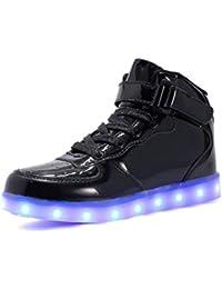 Scarpe LED per Bambini E Adulti Caricatore USB Light Up Force per Ragazzi  Ragazze Uomini Donne dd3de47f5fe