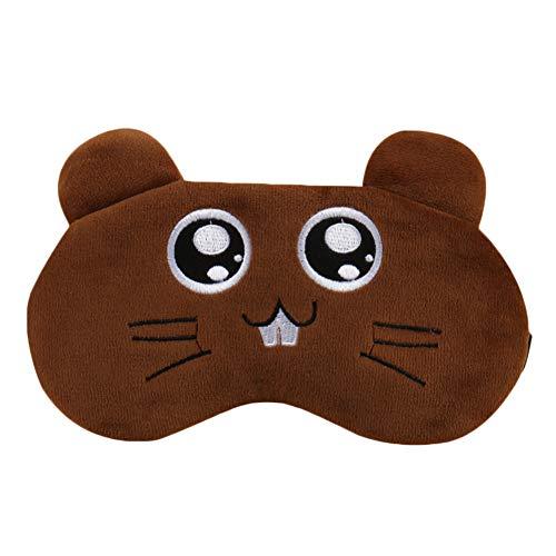 Preisvergleich Produktbild Maoran Augenmaske Schlafmaske Augenbinde Schlaf Augenabdeckung Patch Cartoon Maus Form Verstellbarer Riemen Maus Form 20 * 9, 5 cm