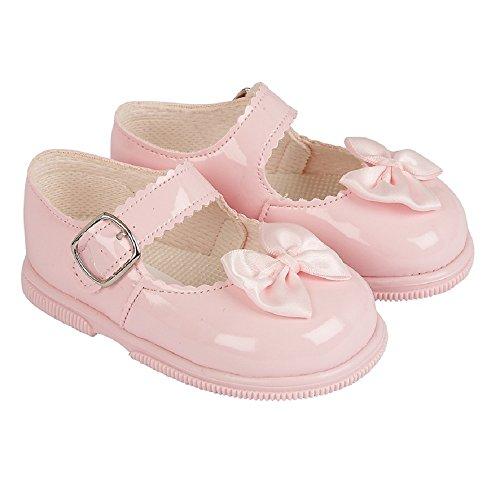 Baypods , Baby Mädchen Lauflernschuhe rosa rose UK 2, (EU 18)