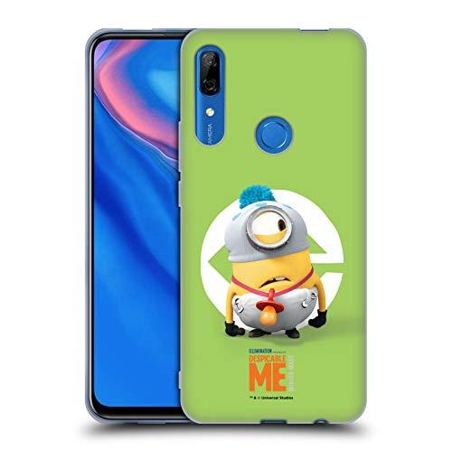 Head Case Designs Offizielle Despicable Me Stuart Baby Kostuem Minions Soft Gel Huelle kompatibel mit Huawei P Smart Z / Y9 Prime (2019) (Gelee Baby Kostüm)