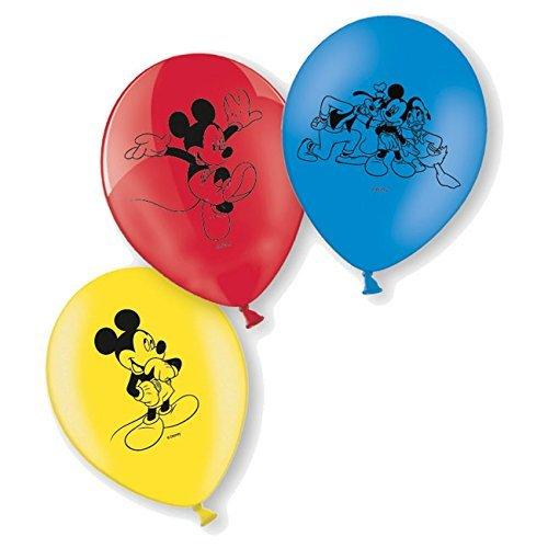 Generique - 6 Luftballons - Mickey Maus (Gummi Mickey Mouse)