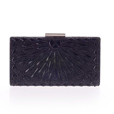 pwne L. In West Woman Fashion Luxus High-Grade Diamdons Abend Tasche Black
