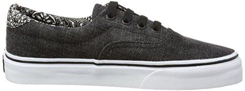 Vans Unisex Sneaker von nbsp;&Ndash;Era 59CA Black (Acid Denim - Black/Bandana)