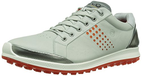Ecco Herren Men'S Golf Biom Hybrid 2 Golfschuhe, Grau (59054CONCRETE/Fire), 43 EU