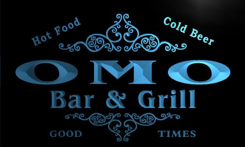 u33299-b-omo-family-name-bar-grill-home-brew-beer-neon-sign-enseigne-lumineuse